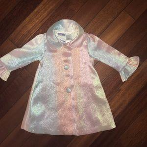 Blueberi Boulevard Toddler Girl Dress and Jacket